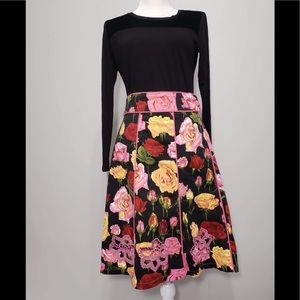 Havenbleu floral skirt size M very colorful (N 10)